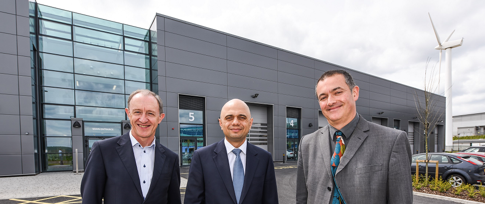 Business Secretary Launches New Purpose-built Advanced Manufacturing Park Facility