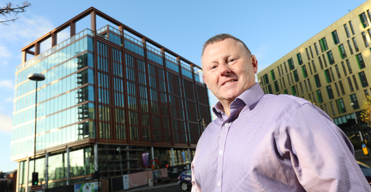 Marc Burton, appointed as Building Manager at The Lumen