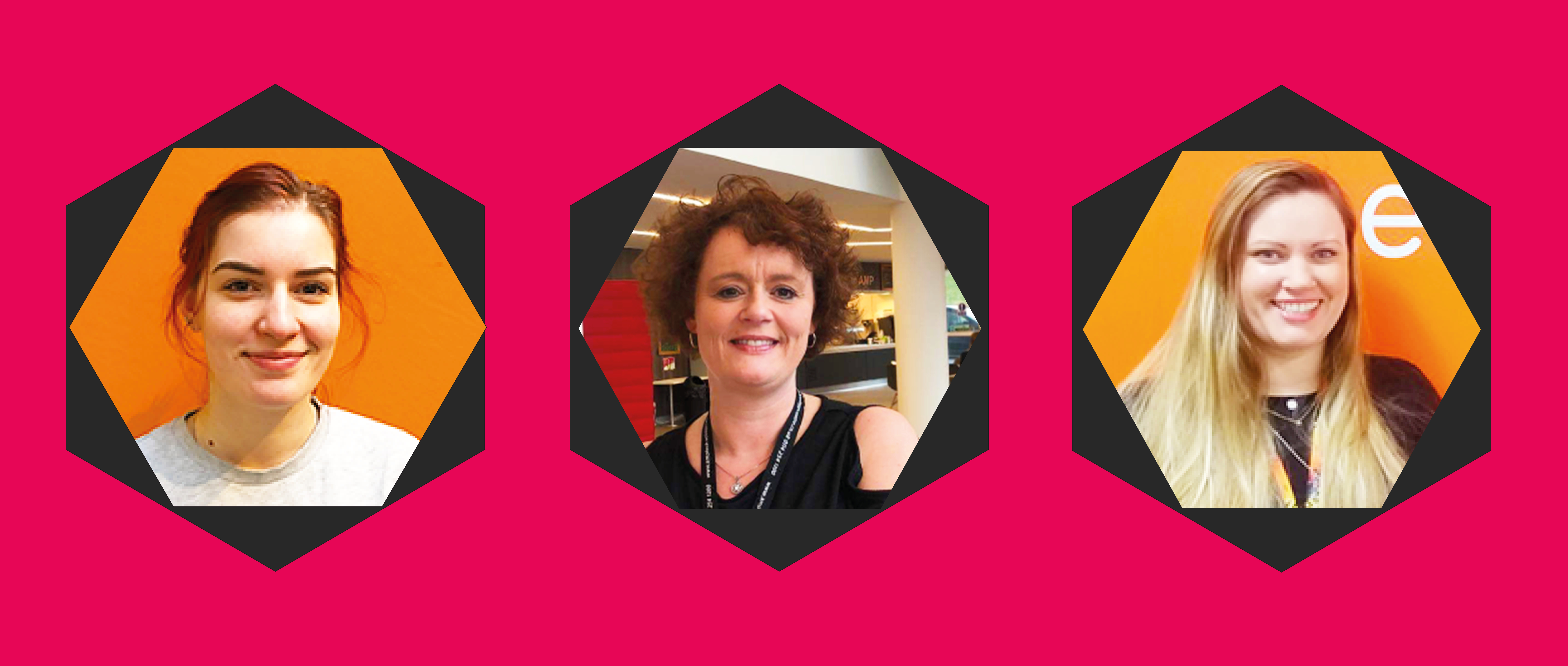 Jenny Carter, Tracey Parker and Amie Simpson Join Creative Space Management